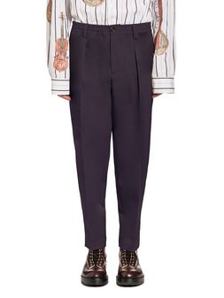 Marni Pants in tropical wool with elastic waist Man