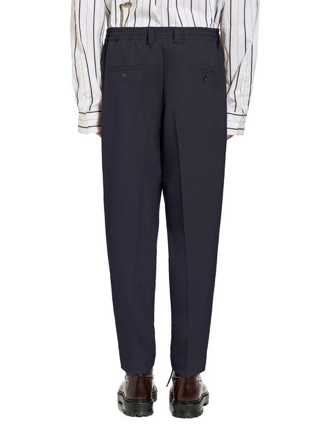 Marni Pants in tropical wool with elastic waist Man - 3
