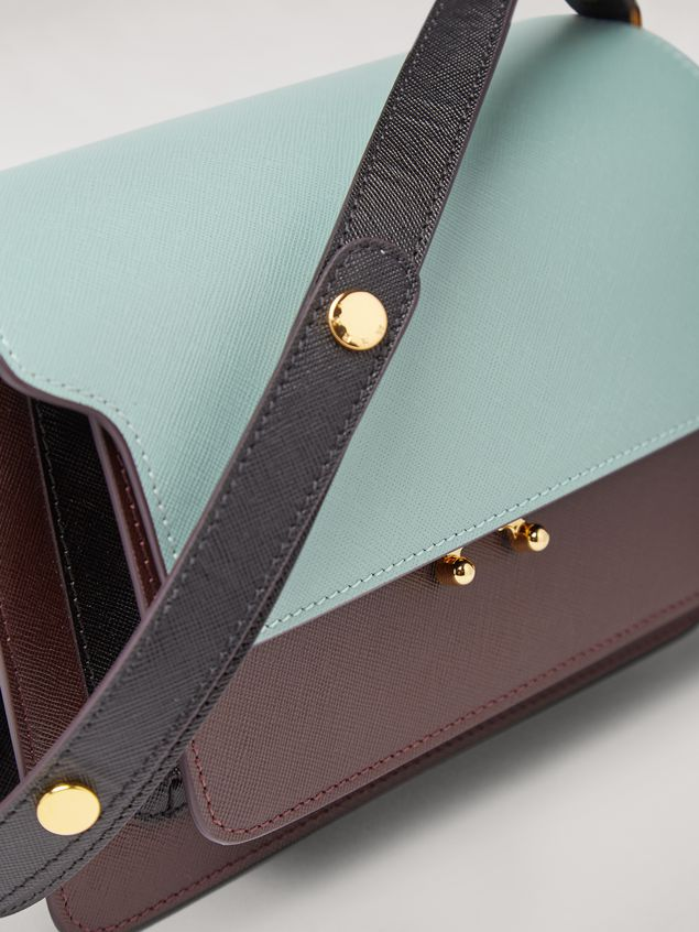 Marni TRUNK bag in saffiano calfskin Woman - 4