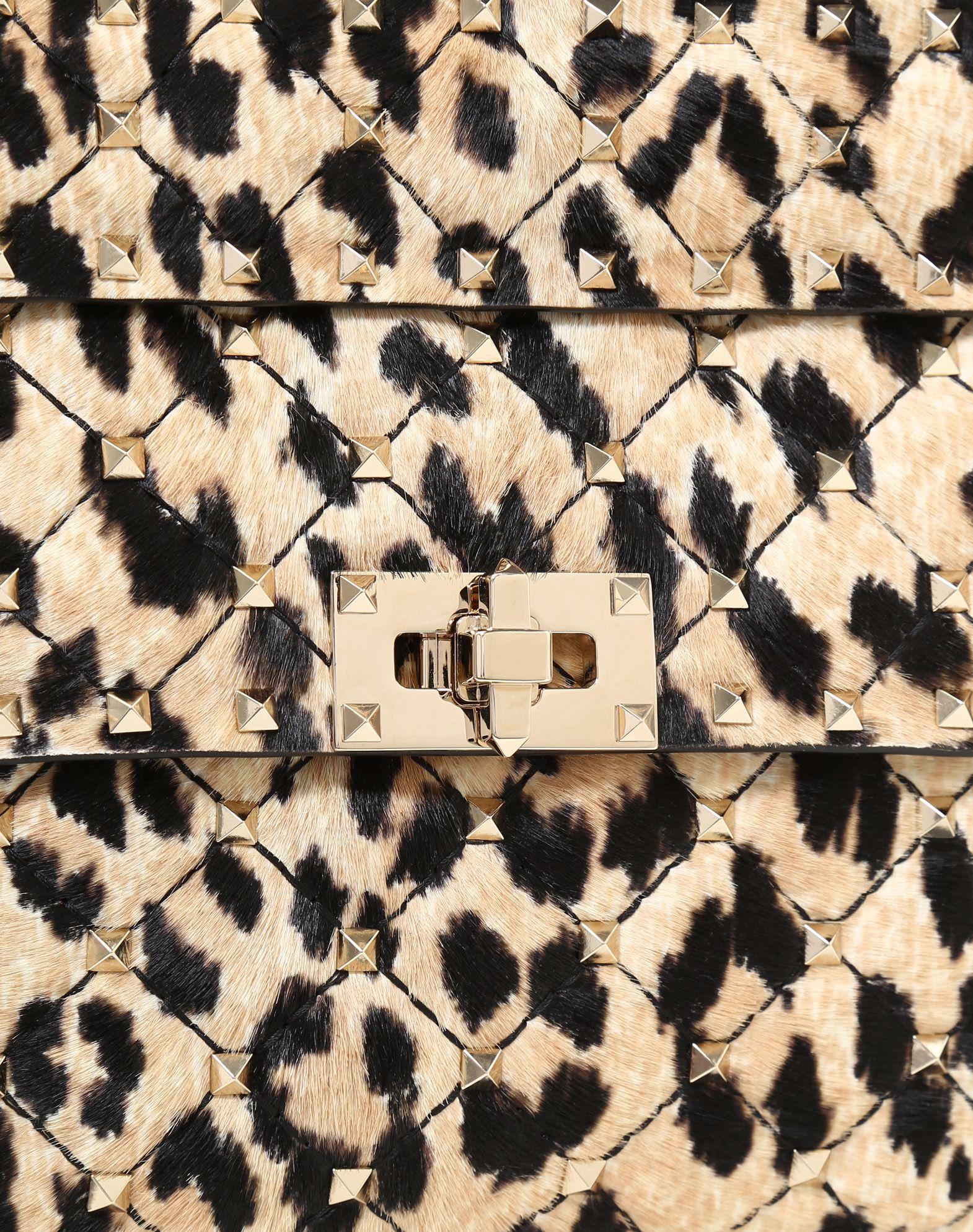 VALENTINO GARAVANI Medium Rockstud Spike Chain Bag  Shoulder bag D b