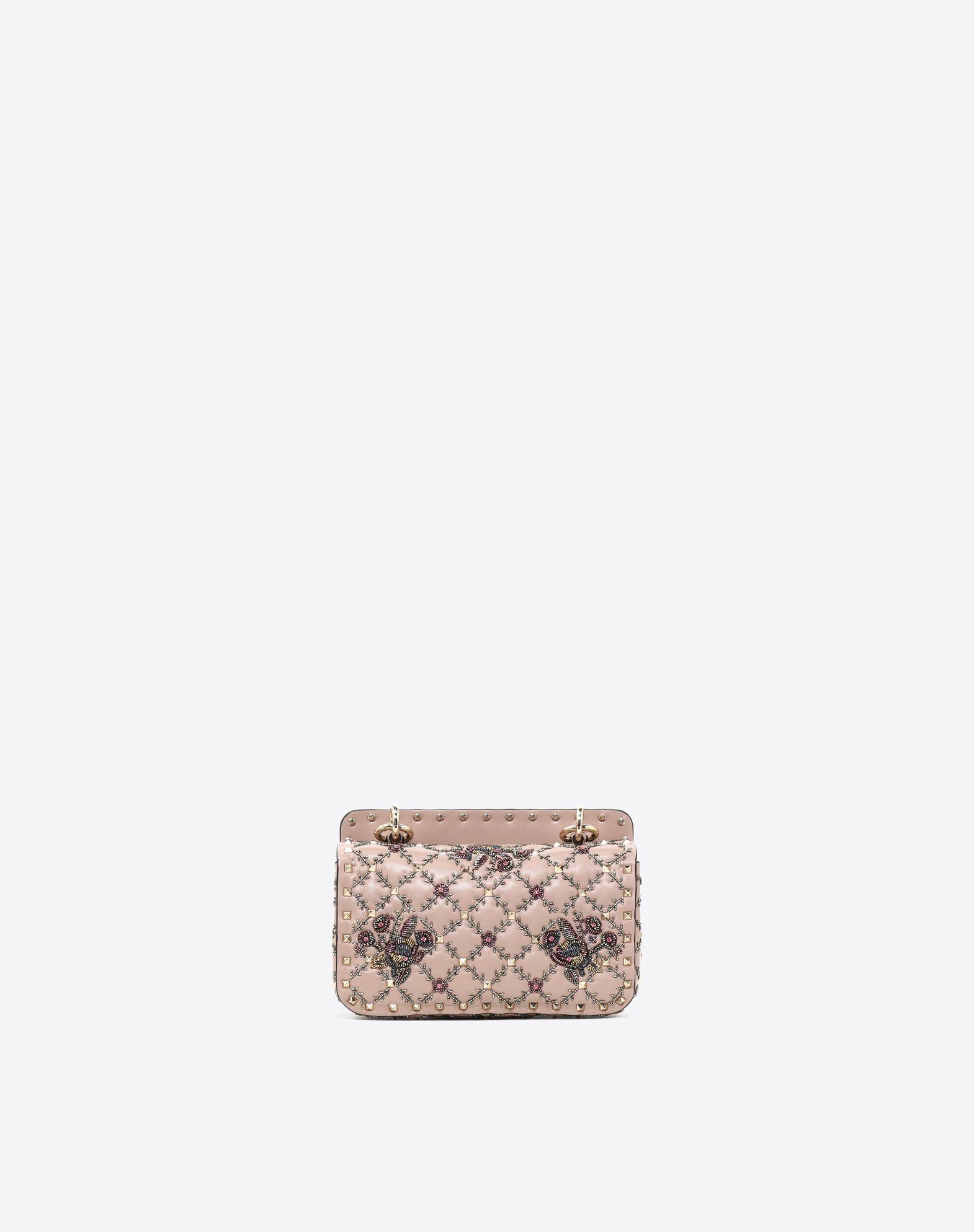 VALENTINO GARAVANI Small Rockstud Spike.It Chain Bag  Shoulder bag D d