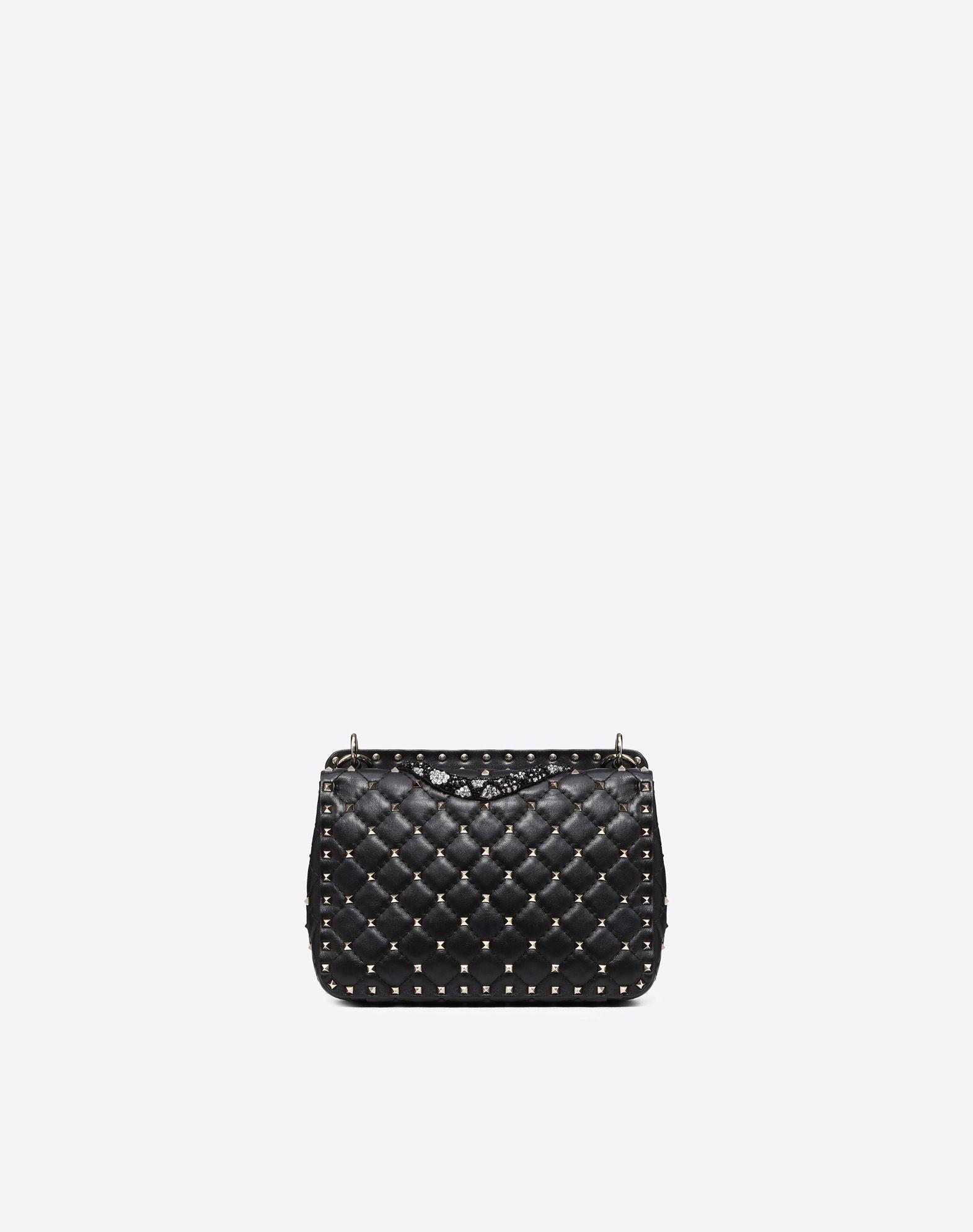 VALENTINO GARAVANI Medium Rockstud Spike Chain Bag  Shoulder bag D d