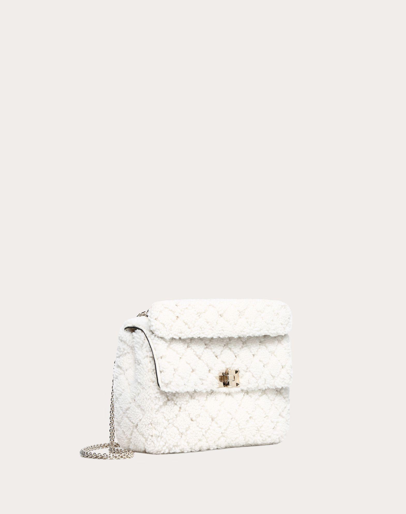 VALENTINO GARAVANI Medium Rockstud Spike Chain Bag  Shoulder bag D r