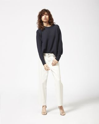 GOLKY cropped denim pants
