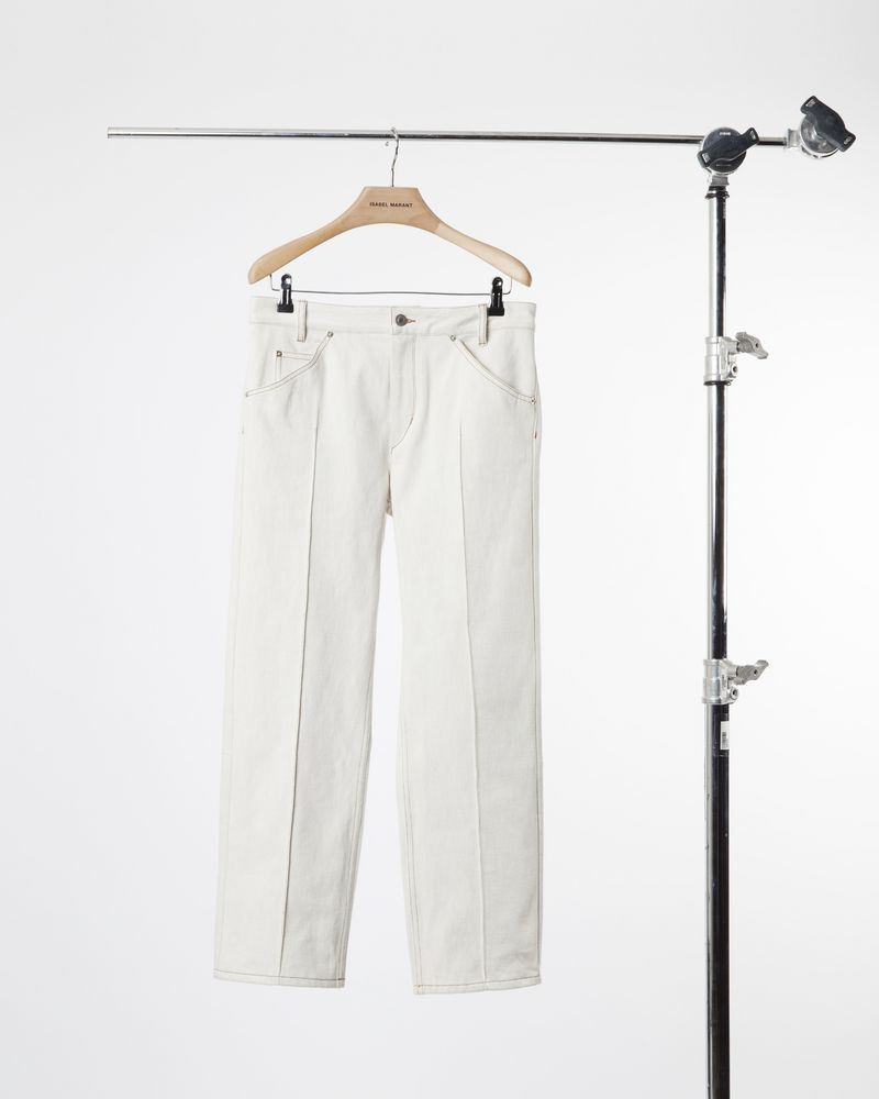 GOLKY cropped denim trousers ISABEL MARANT