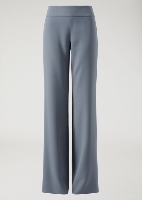Soft cady palazzo trousers