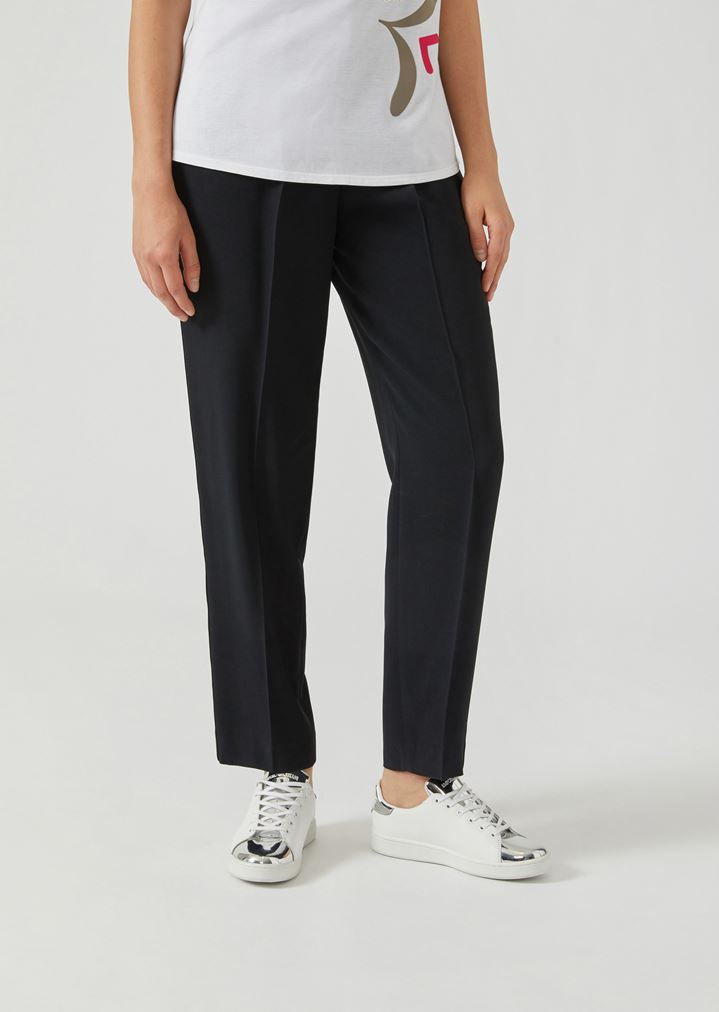95bc344752 Cady trousers with waist darts