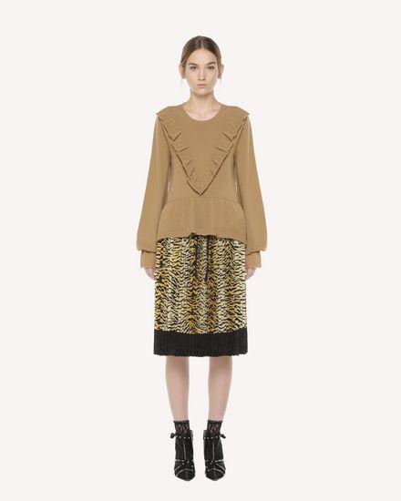 REDValentino Skirt Woman QR3RA2Z53TR 954 f