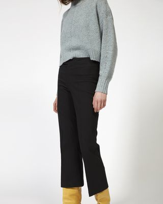 ISABEL MARANT TROUSER Woman NYREE flared stretch trousers r
