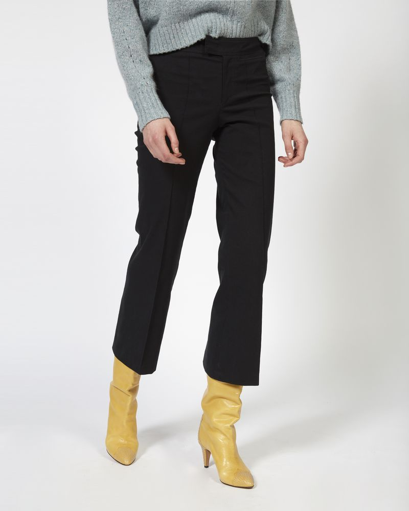 NYREE flared stretch pants ISABEL MARANT