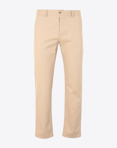 MAISON MARGIELA Casual pants Man Cotton trousers f