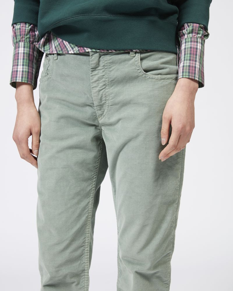 ALIFF Pantaloni in velluto elasticizzato ISABEL MARANT ÉTOILE