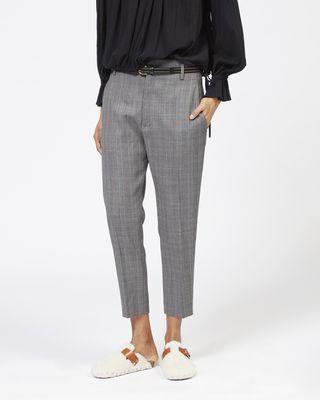 ISABEL MARANT ÉTOILE PANTALON Femme Pantalon Super 100 NOAH r