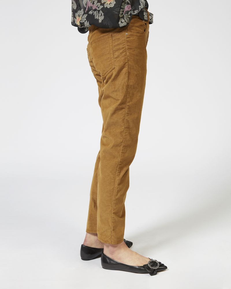 ALIFF trousers in stretch velvet ISABEL MARANT ÉTOILE