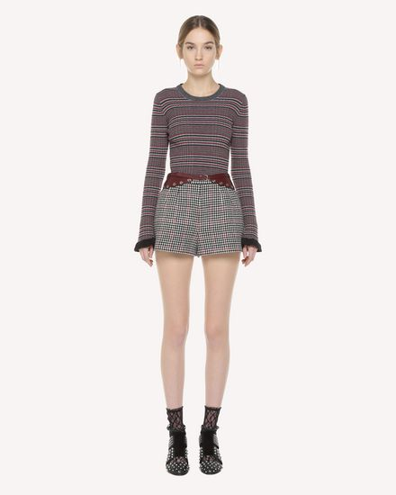 REDValentino Shorts Woman QR3RF1953SU 0NO f