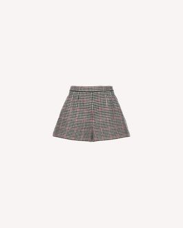 REDValentino Double Windowpane shorts
