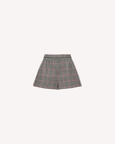 REDValentino QR3RF1953SU 0NO Shorts Woman a