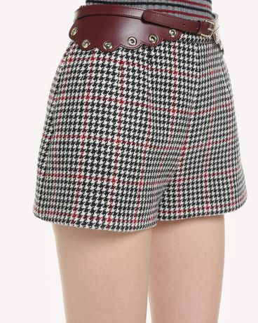 REDValentino QR3RF1953SU 0NO Shorts Woman e