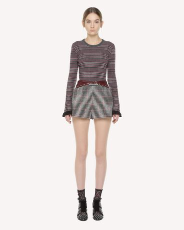 REDValentino QR3RF1953SU 0NO Shorts Woman f