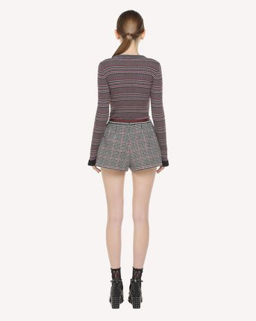 REDValentino QR3RF1953SU 0NO Shorts Woman r