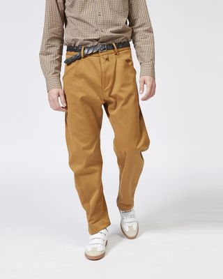 ISABEL MARANT TROUSER Man DYSTON cotton trousers r