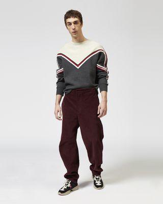 TEEKER velvet trousers