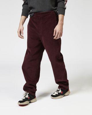 ISABEL MARANT PANT Man TEEKER velvet pants r
