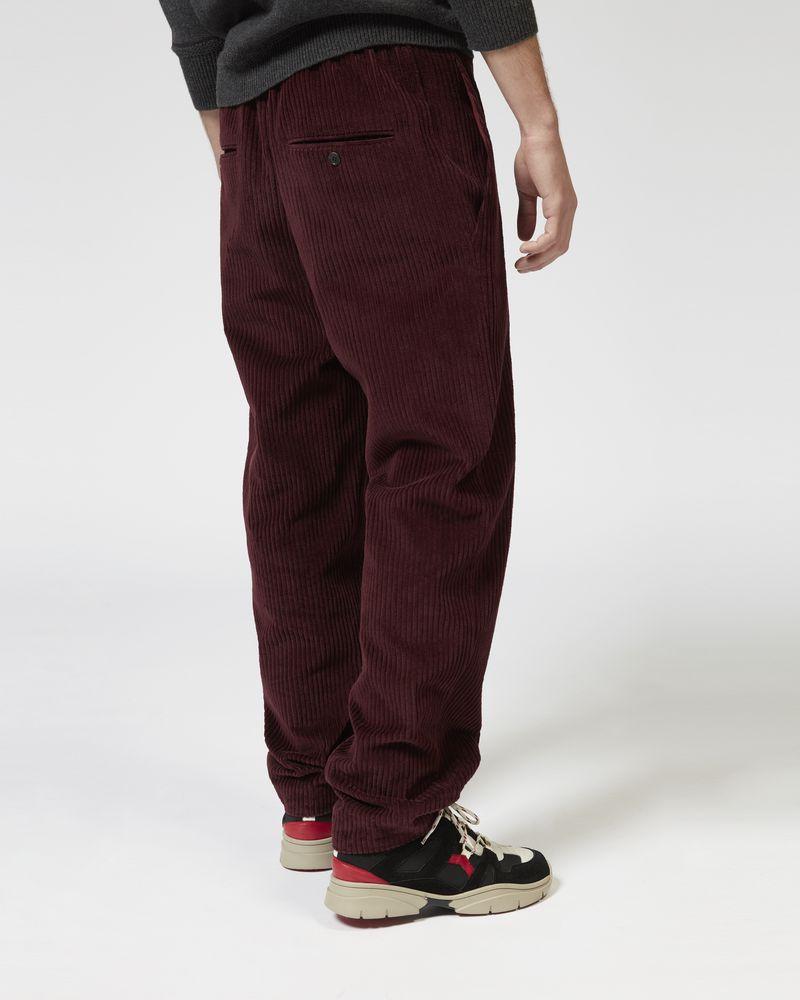 TEEKER velvet pants ISABEL MARANT