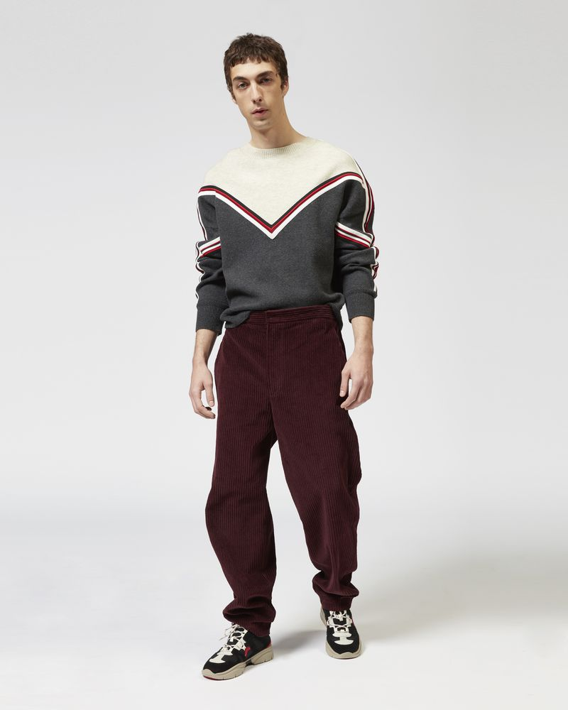 TEEKER velvet trousers ISABEL MARANT