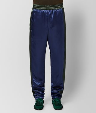 PANTALONE IN VISCOSA ATLANTIC/DARK MOSS