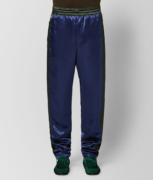BOTTEGA VENETA ATLANTIC/DARK MOSS VISCOSE PANT Trouser or jeans [*** pickupInStoreShippingNotGuaranteed_info ***] fp