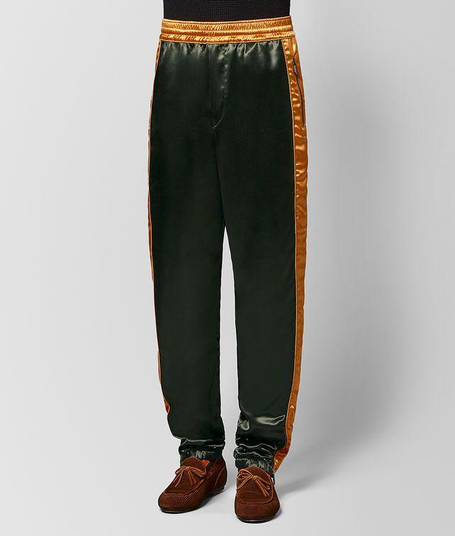 BOTTEGA VENETA DARK MOSS/MARIGOLD VISCOSE PANT Jeans or Pant [*** pickupInStoreShippingNotGuaranteed_info ***] fp