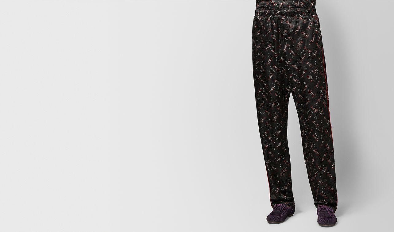 nero/new red silk pant landing