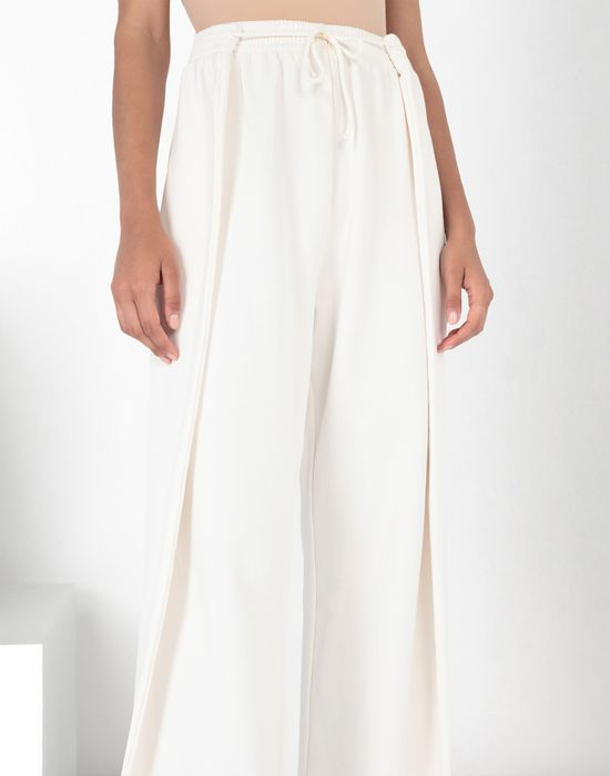 MM6 MAISON MARGIELA High-waisted jersey trousers Casual pants [*** pickupInStoreShipping_info ***] e