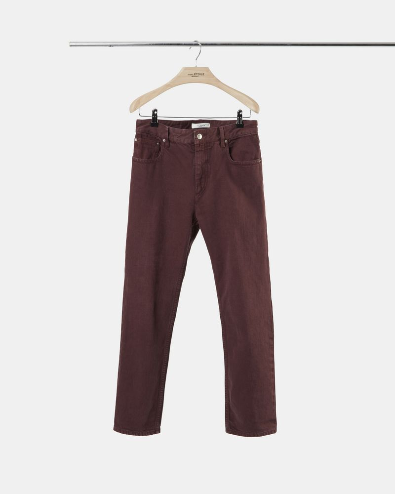 FLIFF coloured denim trousers ISABEL MARANT ÉTOILE