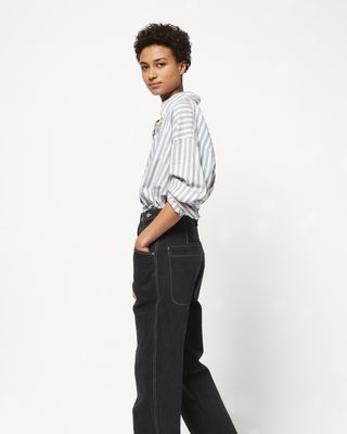 ISABEL MARANT JEANS Woman GENIE denim trousers r