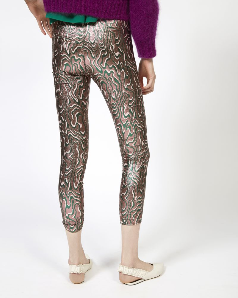 SEVADA pants in lurex jacquard ISABEL MARANT