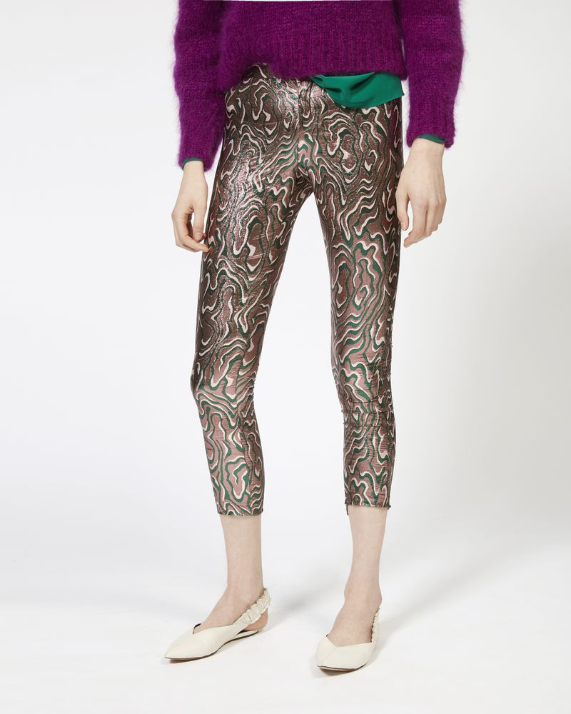 SEVADA trousers in lurex jacquard ISABEL MARANT