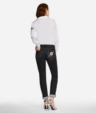 KARL LAGERFELD Karl Space Girlfriend Jeans 9_f