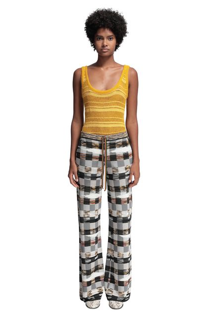 MISSONI Trouser Grey Woman - Back