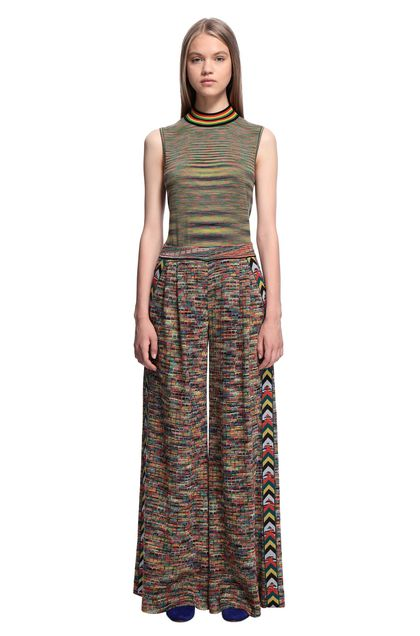 MISSONI Trouser Green Woman - Back