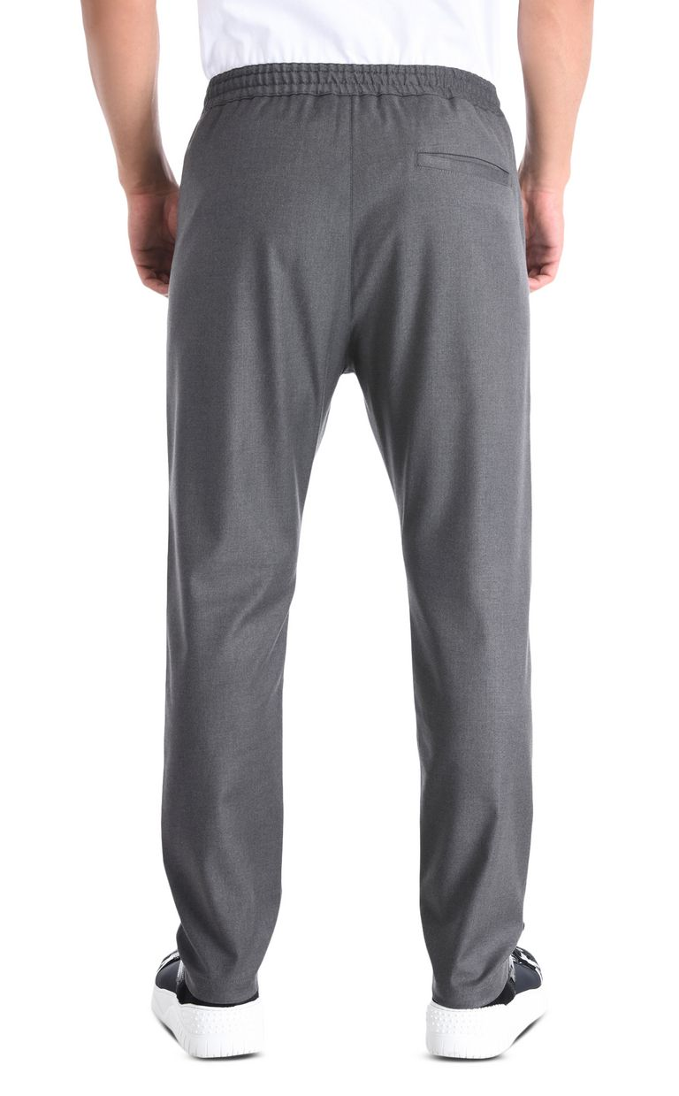 JUST CAVALLI Classic trousers with details Casual pants Man d