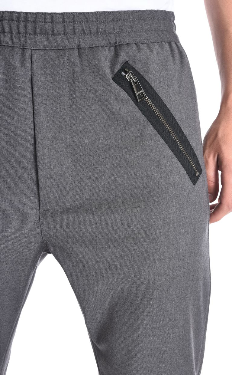 JUST CAVALLI Classic trousers with details Casual pants Man e