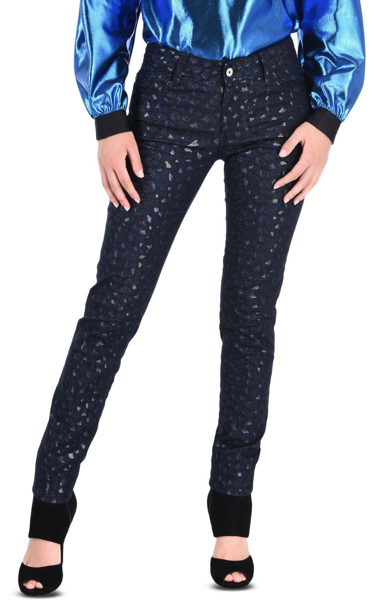 JUST CAVALLI 5-pocket laser-cut jeans Casual pants Woman f