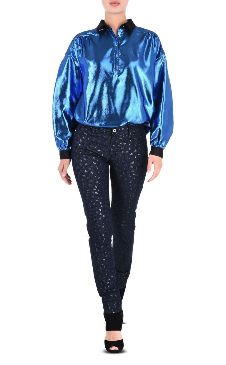 JUST CAVALLI 5-pocket laser-cut jeans Casual pants Woman r