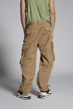 DSQUARED2 Cotton Combat Cargo Pants Trousers Man