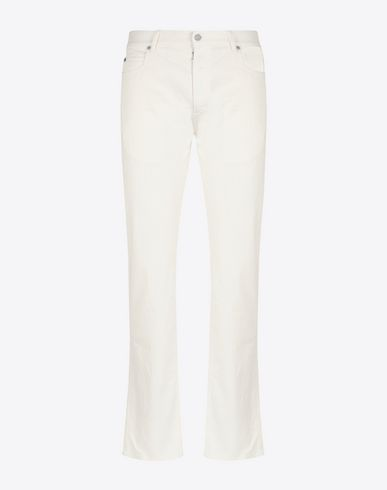 MAISON MARGIELA Jeans Man Stereotype slim-fit 5-pockets jeans f