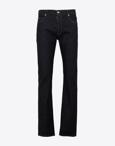 MAISON MARGIELA Jeans Man Slim stretch fit denim trousers f