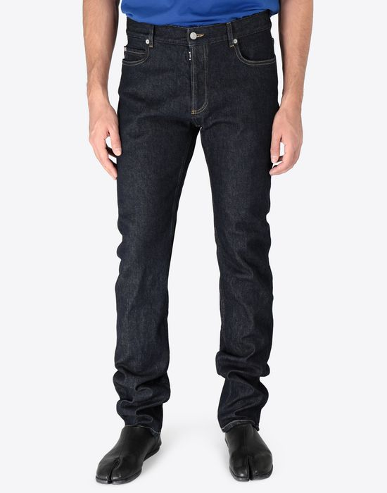MAISON MARGIELA Slim stretch fit denim trousers Jeans [*** pickupInStoreShippingNotGuaranteed_info ***] r