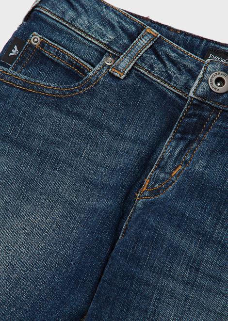 Slim fit jeans in 11.5oz comfort denim cotton